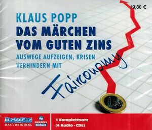 HÖRBUCH-CD-BOX NEU/OVP - Das Märchen vom guten Zins - Klaus Popp