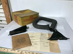 RARE 1940 DODGE PLYMOUTH CHRYSLER DESOTO NOS MOPAR WINDSHIELD DEFROSTER