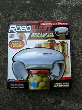 RoboTwist Electric Jar Opener As Seen On Tv. Brand New! Never Opened Sealed!