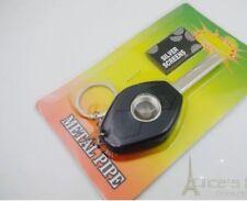 Pocket Car Key Shaped Smoking Pipe And 5 Pipe Screen Uk Seller
