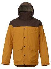 Burton Mens Breach Insulated Ski Jacket 101801 Golden Oak Large