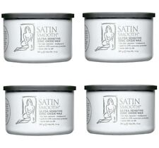 Pack Of 4 Satin Smooth Zinc Oxide Wax 14 Oz