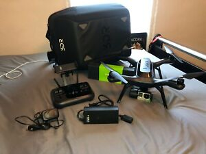 3DR Solo Drone with Gimbal, GoPro Hero 4, Backpack Case, and Extra Propellors