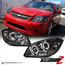 05-10 COBALT 07-09 PONTIAC G5 New Angel Eyes Halo Projector LED Headlights Set
