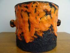 Marei Fat Lava Übertopf Keramik Blumentopf 70er 70s pottery WGP German design