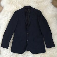 JCrew Men Ludlow Traveler Suit Jacket in Italian Wool 40R Dark Navy A0536 $450
