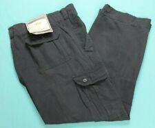 Steve & Barrys Mens Vintage Distressed Cargo Pants 42x32 Gray NWT #14295