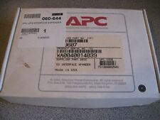 APC AP9607 UPS NETWORK MANAGEMENT CARD - OPENED BUT UNUSED & ORIGINAL BOX