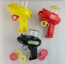 Vintage Power Rangers 1994 Toy Gun lot Space Shooter Foam Discs SEE DESCRIPTION