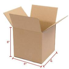100 6x6x6 Cardboard Boxes Mailing Moving Packing Shipping Box