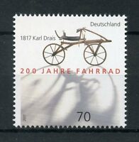 Germany 2017 MNH Bicycle 200th Anniv 1v Set Bikes Bicycles Stamps