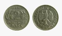 pcc2137_67) GERMANIA GERMANY 2 MARK 1951 D  RARO