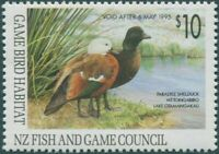 NZ Fish and Game Council 1995 $10 Paradise Shelduck MNH