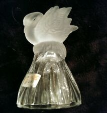 Vintage Beautiful Price Products Glass Swan Bell
