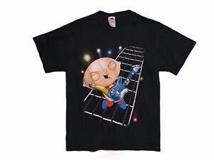 Stewie Griffin Guitar Shirt Mens Size L