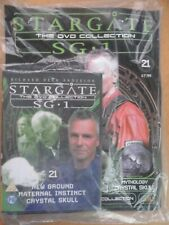 DVD COLLECTION STARGATE SG 1 PART 21 + MAGAZINE - NEW SEALED IN ORIGINAL WRAPPER