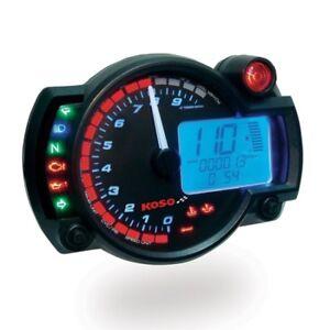 Compteur digital mutlifonctions KOSO RX2N+ GP Style universel Moto