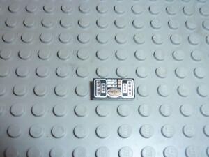 Lego Black tile 1x2 ref 3069bps6 Set 10198/10212/7143/7660/7680/7690/7892/4896