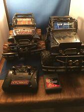 Lot Of 2 New Bright Radio Control Jeep Wrangler Rubicon