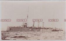 "Royal Navy Real Photo. HMS ""Diamond"" (1904),Topaze-class cruiser. Hopkins. 1905"
