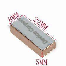 8pcs Copper Heatsink Ram Memory Heat sinks Cooling Xbox 360VGA DDR 22x8x5mm
