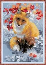 Fox by Riolis Cross stitch kit 1510 New unopened