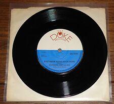 "FIORI e Alvin ~ Rastaman B/N PICCOLO Gioventù Linda ~ Duca UK 7"" 1973 il Reggae"