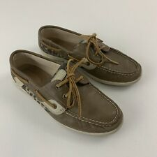Sperry Top Sider Womens 7.5 Animal Print Boat Shoes.