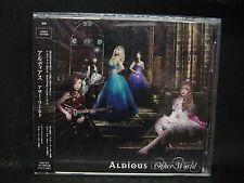 ALDIOUS Other World JAPAN CD + DVD Raglaia Galmet Crying Machine Manipulated Sla