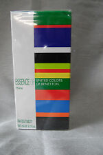ESSENCE OF UNITED COLORS OF BENETTON 3.3 / 3.4 OZ / 100 ML EDT SPRAY MEN