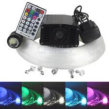 LED fiber optic star ceiling kit 335 strands 4m(0.75+1.0+1.5)+16W RGBW Engine