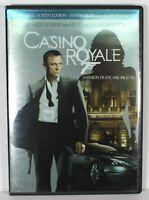 Casino Royale DVD 2007 Full Frame 2 Disc Set Daniel Craig James Bond 007
