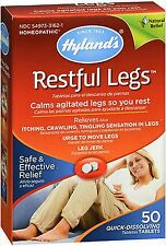 Hyland's Restful Legs Homeopathic Calms Agitated Legs 50 tabs