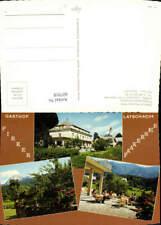 607918,Mehrbild Ak Latschach a. Faaker See Gasthof Pension Pirker