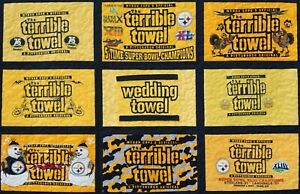 NFL Pittsburgh Steelers Terrible Towel #1 Dad Camo Thanksgiving Pink Rings Bib