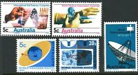 Australia MNH 1968 World Science thematic Stamps SET Weather Soil Medical issues