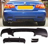BMW 3 series E92 E93 M performance style rear diffuser skirt valence plastic!
