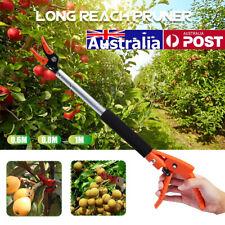 Long Reach Pruner Cutter Garden Pruning Shear Fruit Picker Tools 0.6m/0.8m/1m
