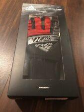 Adidas Predator Ultimate Goal Keeper Soccer Football Gloves Size 7 Black Red