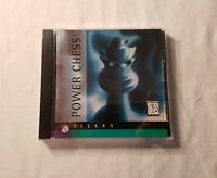 Sierra Power Chess (PC, 1996) *Game Disks and inserts only