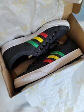 New listing Adidas Originals Nizza Men's Size 10 Black Rasta Skate Sneakers New