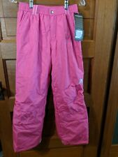 NEW ZeroXposur Purple Winter BIB SNOW PANTS Ski Snowboard GIRLS Large 6X NWT