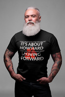 It Ain't About How Hard You Hit. Motivational. Short-Sleeve Unisex T-Shirt