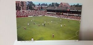 VINTAGE...COLLECTABLE...THE DELL.. SOUTHAMPTON FOOTBALL GROUND...POSTCARD..PHOTO
