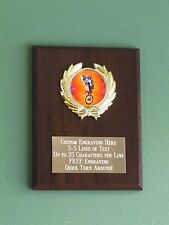 BMX Biking/Motocross/X-Games Plaque 6x8 Trophy FREE custom engraving