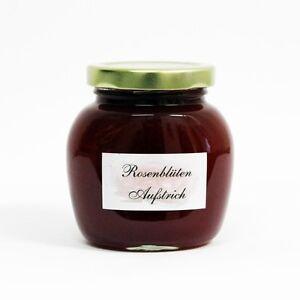 2,76€/100g - Rosenblüten - Aufstrich 250 g -wie Konfitüre - Rosen Marmelade -