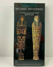 Mummy Mysteries Double Sided Jigsaw Puzzle Museum Of Fine Arts Vintage Sealed