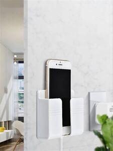 Mobile Phone Charging Hanging Holder Wall Mounted Plug Bracket