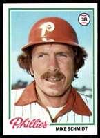 1978 Topps Break 3 Mike Schmidt Philadelphia Phillies #360