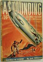 Astounding Science Fiction Pulp Feb 1939 Clifford Simak, Jack Williamson, Gallun
